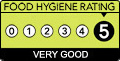 Food Health Rating 5 Star